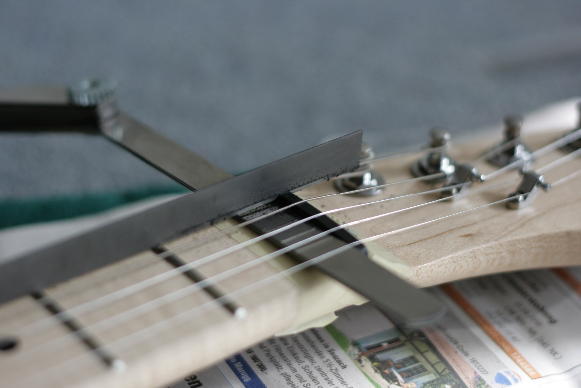 how to build a nut for a telecaster from scratch